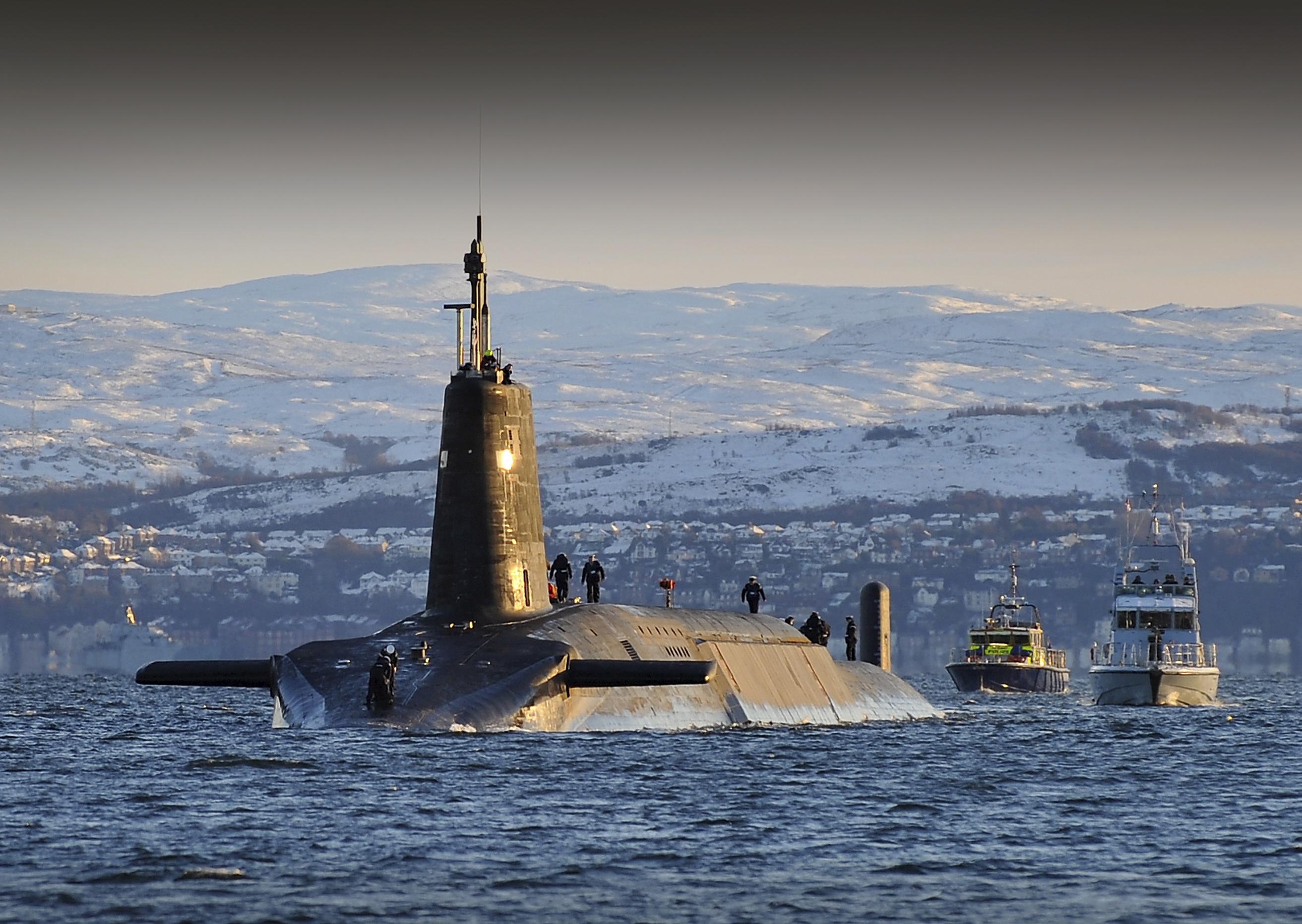 стратегических подводных лодок