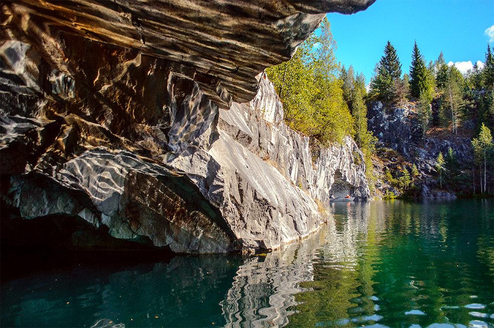 «Рускеала» - горный парк в мраморном каньоне