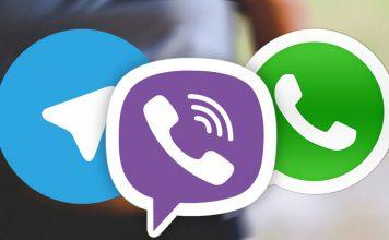 Мессенджеры (WhatsApp, Telegram, Viber)